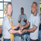 Dr. Balakrishnan with Don
